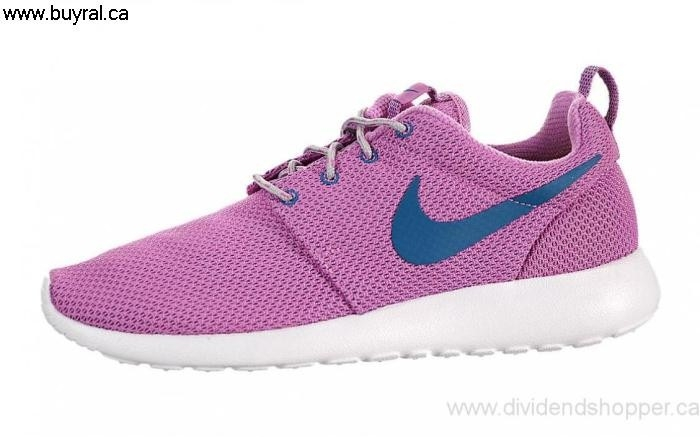 Canada Companions Shoes 2014 Nike Womens Roshe Violet/Wolf/Grey/White One 511882-502 Red FGKOSY0259