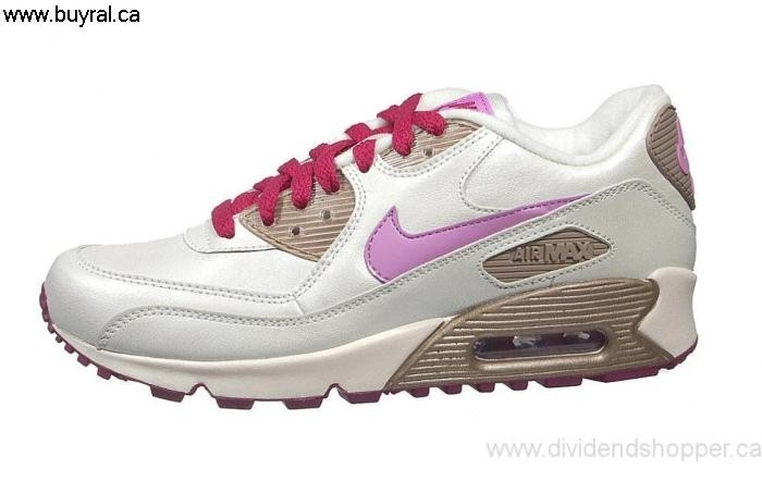 Canada Shoes 2006 Forever Nike Air Max 90 Zinc-Grape 312153-151 Sail/Violet-Metallic CL CGHKOV2689