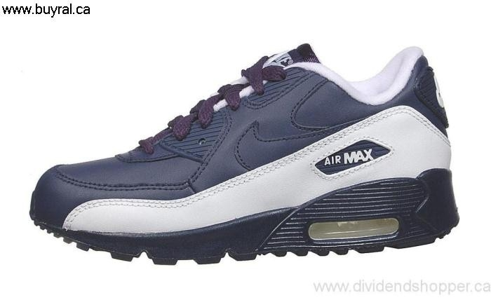 Canada Shoes 2006 Nike Air Max Primary 90 (Preschool) Navy-White Navy/Midnight Midnight 307794-441 CEJKNQZ015