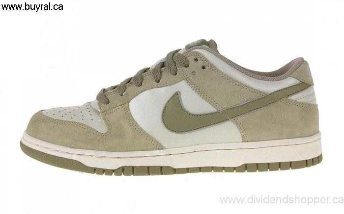 Canada Shoes 2007 Functionality Nike Womens Dunk Low Sail/Neutral 314141-121 NKE Olive ABEGKLNPY9