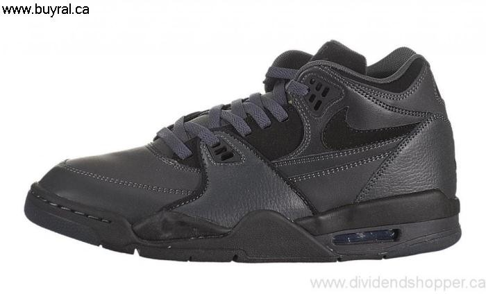 Canada Shoes 2013 Nike Air Flight 89 Green-Purple-Black 306252-007 Anthracite / Commonly GHJLMNQS02