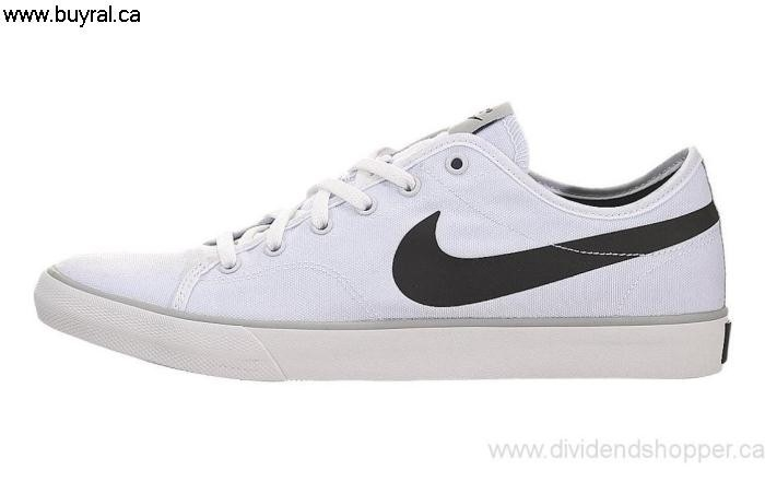 Canada Shoes 2014 Nike Womens Primo Apropos Court Canvas Black-Barely Grey-White 631635-100 / White DILNPQSVX7