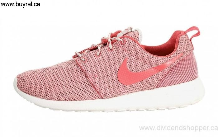 Canada Shoes 2014 Nike Womens Roshe One Light Range Base Summit / Grey 511882-018 White-Volt-Geranium CDEFLOPVZ8